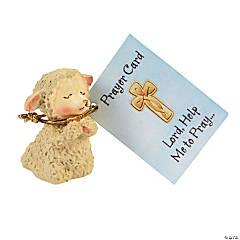 Praying Lamb Figurines