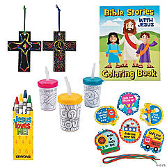 Pre-K Religious Craft Assortment for 24