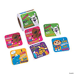 Pre-K/Kindergarten Language Goals Stickers