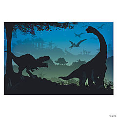 Prehistoric Dinosaur Backdrop Banner