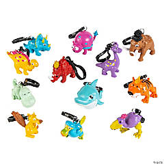 Prehistoric Pals Dinosaur Collectable Keychains