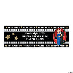 Premiere Night Party Photo Custom Banner - Small