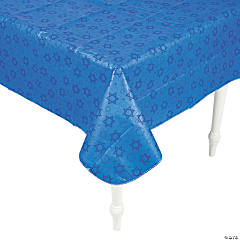 Premium Hanukkah Vinyl Tablecloth