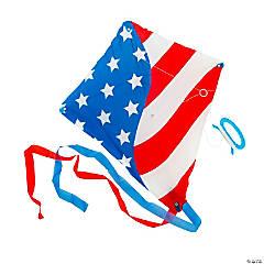 Premium Patriotic Kites with Tail