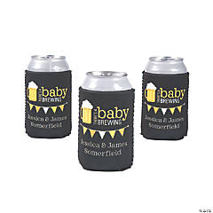 Premium Personalized Baby Brewing Can Coolers