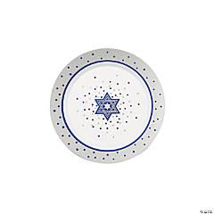 Premium Plastic Passover Dessert Plates - 20 Ct.