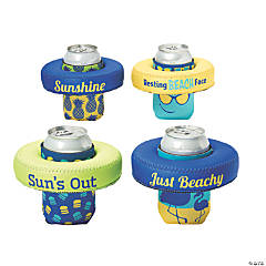 Premium Sassy Sayings Can Coolers with Floating Discs