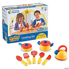 Pretend & Play Cooking Set 10 Pcs
