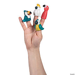 Pretty Birds Finger Puppets