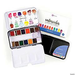 Prima Watercolor Confections Watercolor Pans 12/Pkg-Odyssey