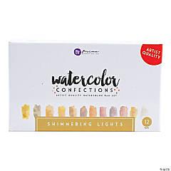 Prima Watercolor Confections Watercolor Pans 12/Pkg-Shimmering Lights
