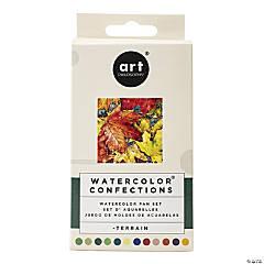 Prima Watercolor Confections Watercolor Pans - Terrain, 12/Pk