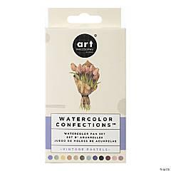 Prima Watercolor Confections Watercolor Pans - Vintage Pastel, 12/Pkg