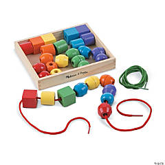 Primary Lacing Beads, 2 Sets