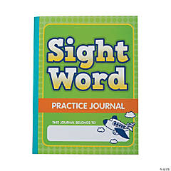 Primary Sight Word Practice Journals