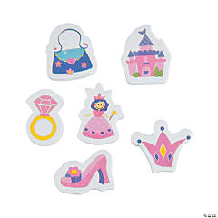 Princess Erasers - 24 Pc.