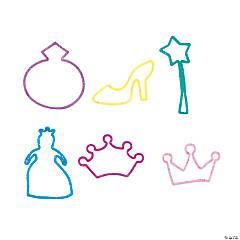 Princess Glitter SIlicone Bracelets