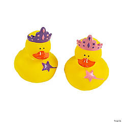 Princess Rubber Duckies