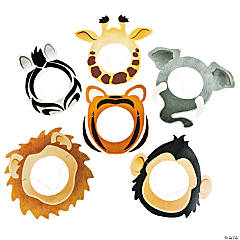 Printed Animal Face Masks