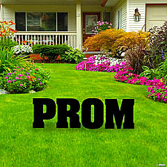 Prom Yard Sign Letter Kit
