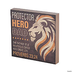 Proverbs 23:24 Tabletop Sign