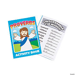 Proverbs Activity Books