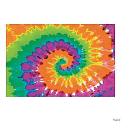Psychedelic Tie-Dye Backdrop Banner