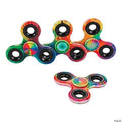 Psychedelic Tie-Dye Fidget Spinners
