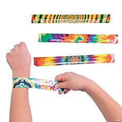 Psychedelic Tie-Dye Slap Bracelets
