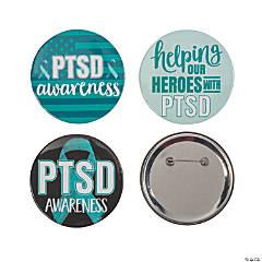 PTSD Awareness Buttons