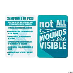 PTSD Awareness Wallet Cards