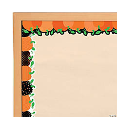 Pumpkin Bulletin Board Borders