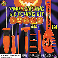 Pumpkin Carving Set with Etching Kit