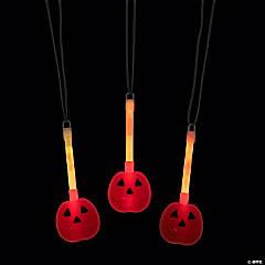 Pumpkin Character Glow Necklaces