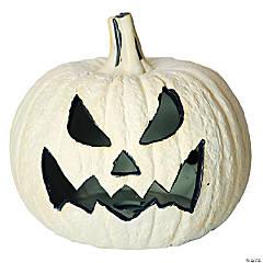 Pumpkin Fire Log Halloween Decoration