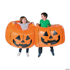 Pumpkin Inflatable Body Bopper Set