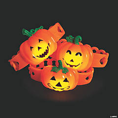 Pumpkin Light-Up Bracelets