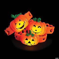 Pumpkin Light-Up Bracelets