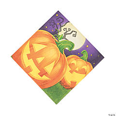 Pumpkin Party Luncheon Napkins