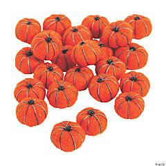 Pumpkin Pom-Poms