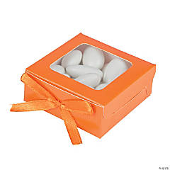 Pumpkin Shadow Favor Boxes