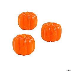 Pumpkin-Shaped Bouncy Balls