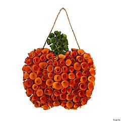 Pumpkin-Shaped Wreath