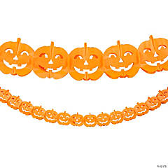 Pumpkin Tissue Garland
