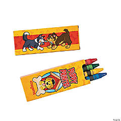 Puppy Party Crayon Boxes