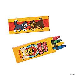 Puppy Party Crayon Boxes