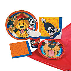 Puppy Party Tableware Kit for 8 Guests