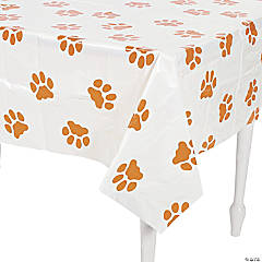 Puppy Pawprint Tablecloth