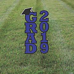 Purple 2019 Grad Yard Signs