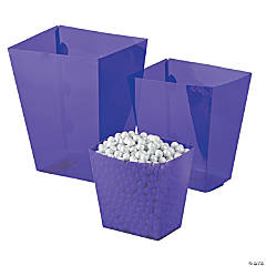 Purple Candy Buffet Buckets